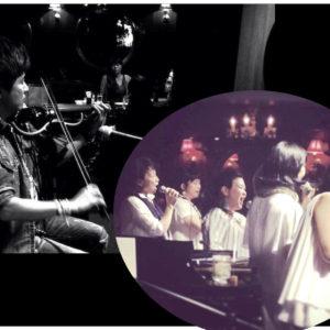 【無料】夏を元気に乗り切ろう!ゴスペル&エレキバイオリンスペシャルライブ!